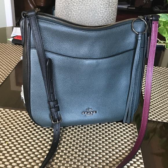 143e51255debca Coach Bags | Chaise Crossbody Bag In Colorblock | Poshmark